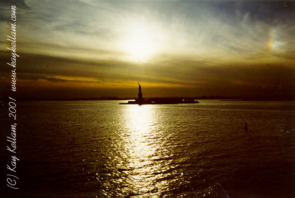 Statue of Liberty Photographed by Kay Kellam in 1996